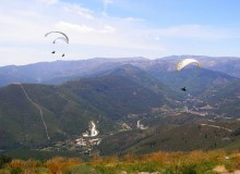 Paragliding in Portugal